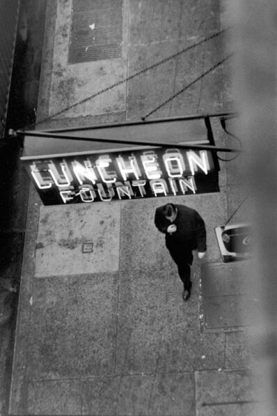 David Vestal, 'West 22nd St., NYC', 1958