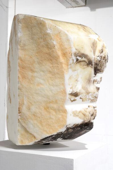 Zorawar Sidhu, 'Head of Euripides', 2016