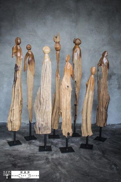 Dwita Arya, 'Orang-Orang', 2018