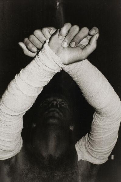 Ivens Machado, 'Untitled (Performance with surgical bandage) #26'