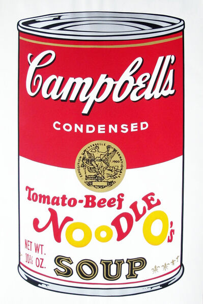 Andy Warhol, 'Campbell's Soup II: Tomato Beef Noodle O's (FS II.61)', 1969