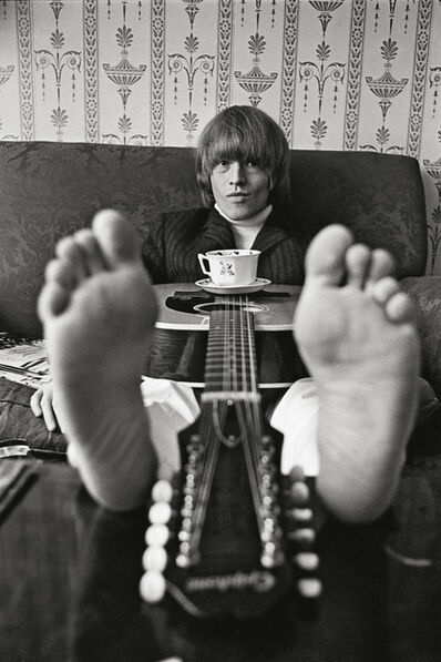 Bent Rej, 'Brian Jones at Home, London, 1965', 1965