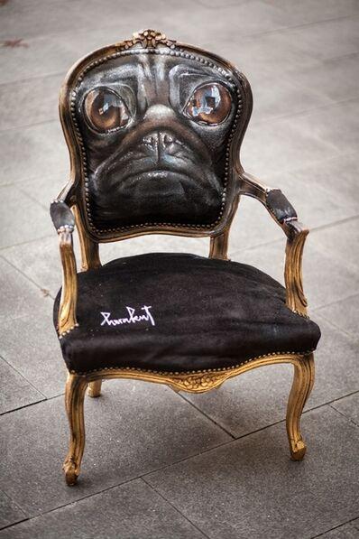 Herakut, 'Pug Chair', 2013