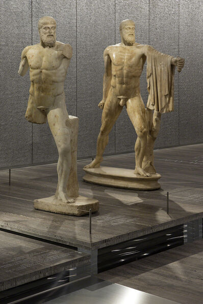 'Exhibition view of 'Serial Classic', co-curated by Salvatore Settis and Anna Anguissola Fondazione Prada Milano', 2015