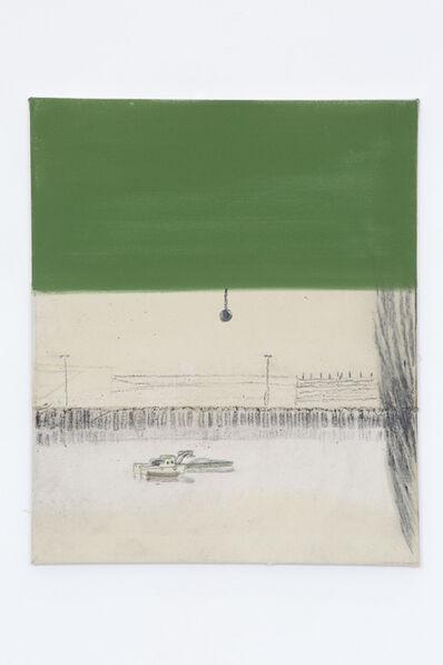 Merlin James, 'Green, Blind', 2019