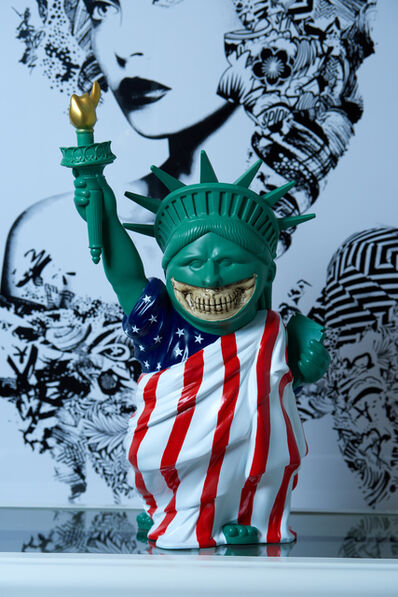 Ron English, 'Liberty Grin ', 2019