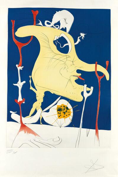 Salvador Dalí, 'La Conquête du Cosmos II', 1974