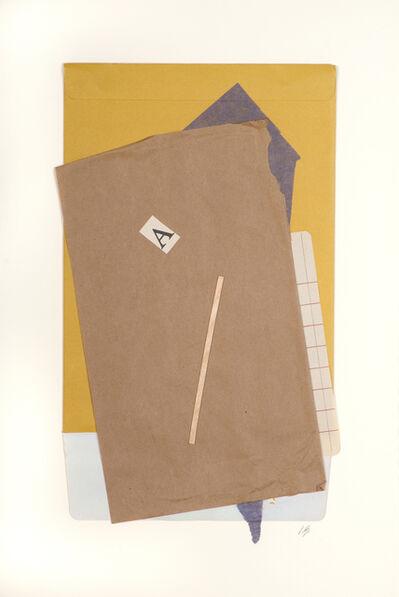 Inés Bancalari, 'Ocre, gris y A', 2007