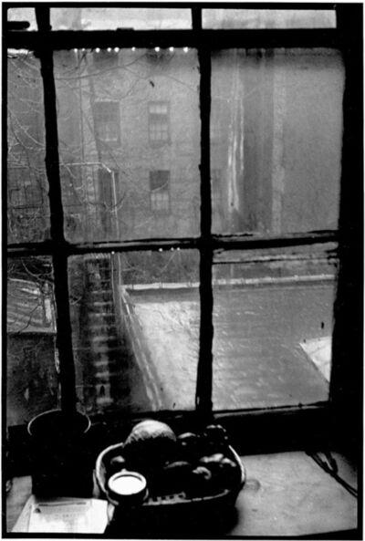 David Vestal, 'Back Window, 77 E. 10th St., New York', 1952