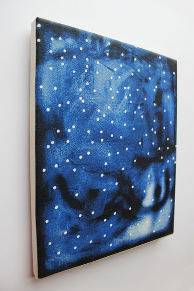 Lucien Smith, 'Blue (framed limited edition canvas tote bag)', 2010