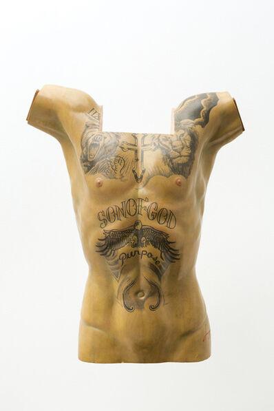 Paul Pfeiffer, 'Justin Bieber's torso', 2018