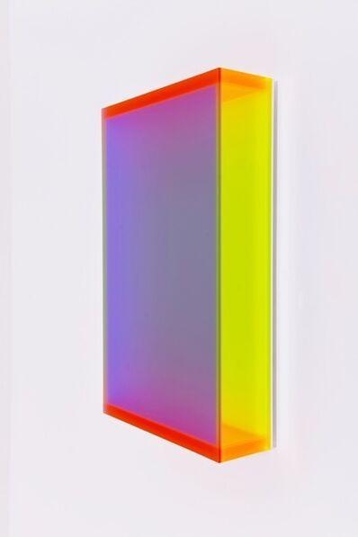 Regine Schumann, 'Colormirror Satin Plum Miami', 2019
