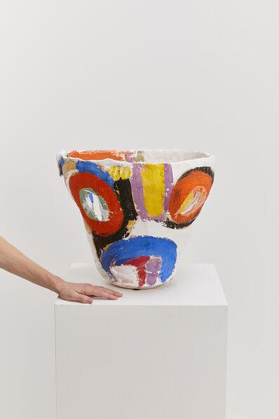 Roger Herman, 'Untitled 90 (White, Yellow, Purple, Blue)', 2019