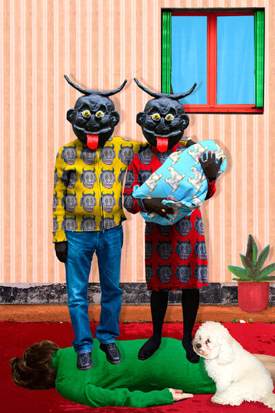 Malekeh Nayiny, 'Brand New Family', 2007
