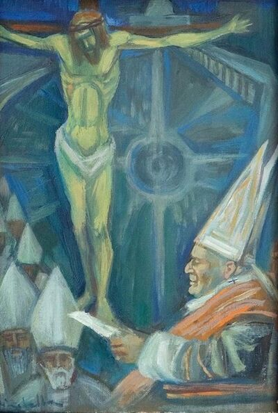 Stefano Mirabella, 'Tribute to the Council', Mid 20th Century
