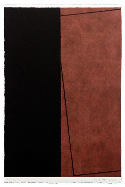 Robert Mangold (b.1937), 'Varied Figure Zone, 1 Part', 2000