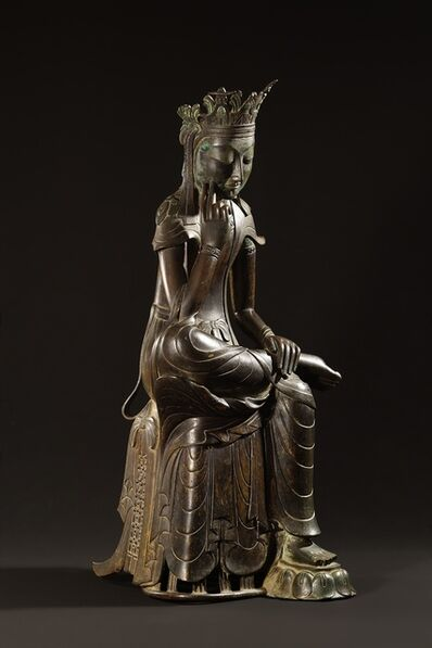 'Pensive Bodhisattva', Late 6th century