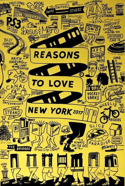 Stephen Powers, 'Reasons to Love New York', 2017