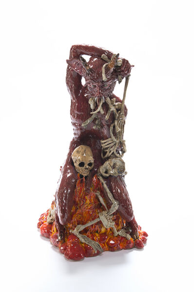 Carolein Smit, 'The Skeleton Devouring Devil', 2014