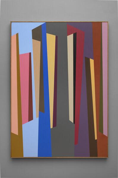 Karl Benjamin, '#7', 1987