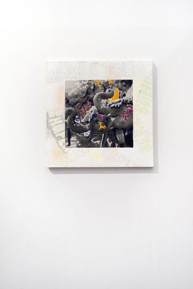 Berend Strik, 'Deciphering the artist's mind:...(studio BK)', 2017