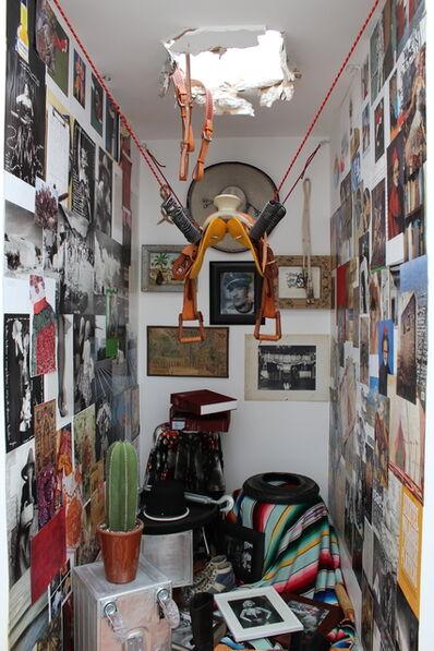Melanio Zapata, 'The Day Pedro Infante Flew Into Space From His Apartment (Plagiarizing Ilya Kobakov Jalisco Style)', 2018