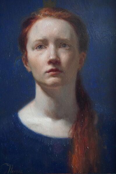 Cornelia Hernes, 'Blue Princess', 2018