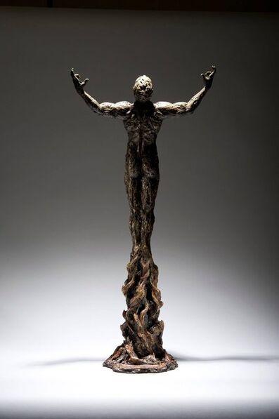 Ian Edwards, 'Born Of Fire - Original Signed Bronze Sculpure'