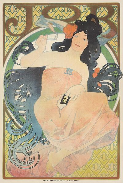 Alphonse Mucha, 'Job.', 1898