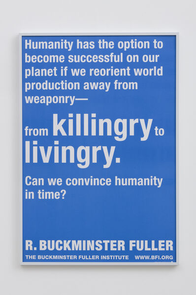 R. Buckminster Fuller, 'From Killingry to Livingry'