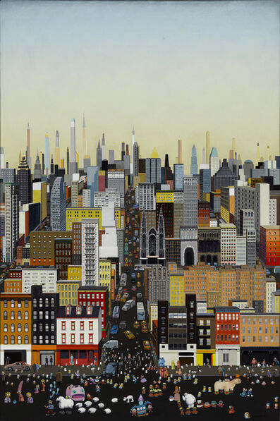 Zhang Gong, 'Metropolis No.4', 2015