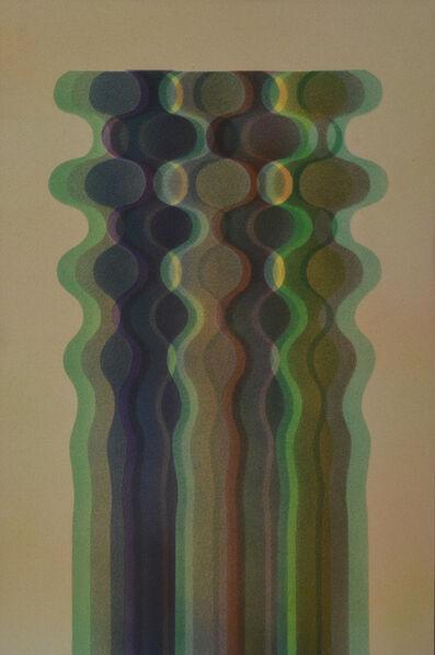 Julio Le Parc, 'theme 14 a variation', 1975-1979