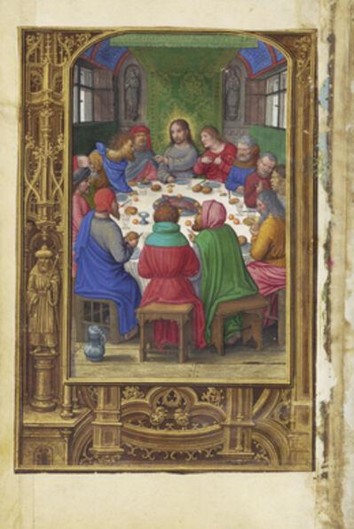 Simon Bening, 'The Last Supper', 1525-1530