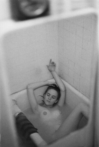 Saul Leiter, 'Jay in the Bathtub', ca. 1957