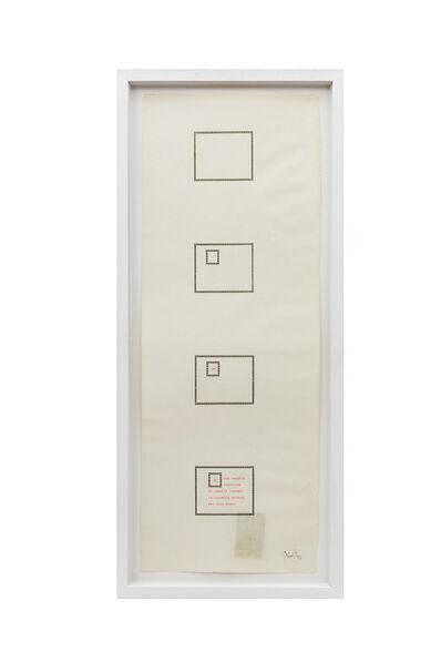 Tomaso Binga, 'È una vecchia incisione', 1982
