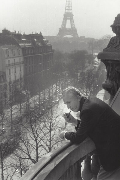 Henri Cartier-Bresson, 'Untitled (David O. Selznick with Eiffel Tower)', 1957