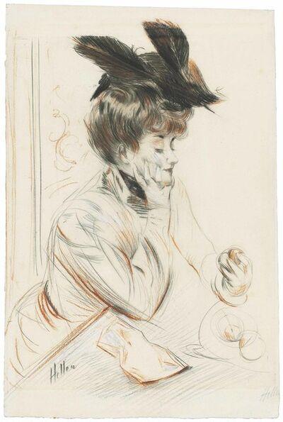 Paul César Helleu, 'Eve', circa 1895
