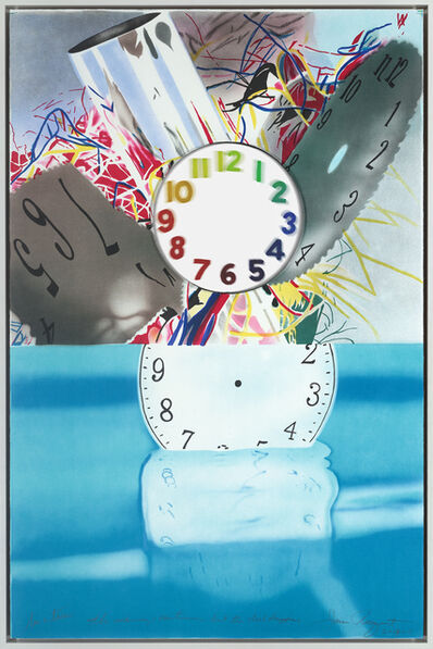 James Rosenquist, 'The Memory Continues but the Clock Disappears', 2011