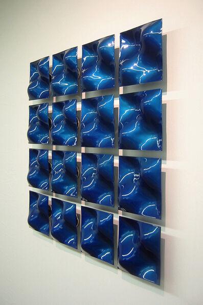 Bernard Klevickas, 'bluewaveforms', 2017