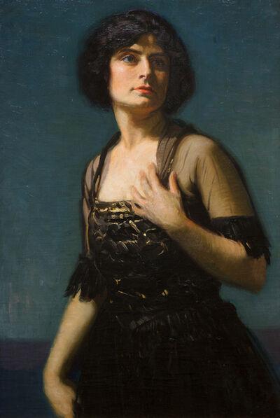 Joseph Kleitsch, 'Portrait of Hedda Nova', ca. 1920