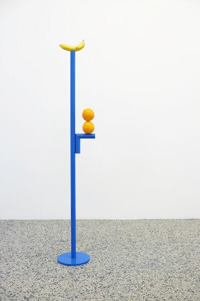 Diango Hernández, 'Dos naranjas y un platano', 2017