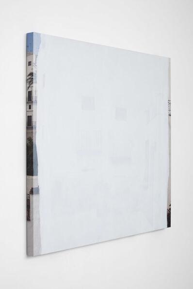 """Ger van Elk, 'Conclusions II - Vejer de la Frontera """"Blue transparent""""', 2012"""