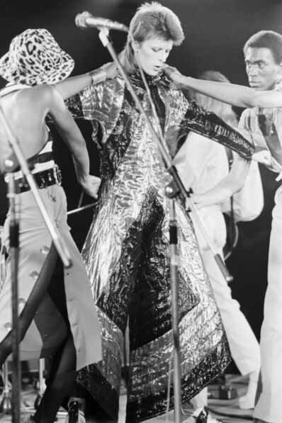 Terry O'Neill, 'Ziggy's Final Performance'