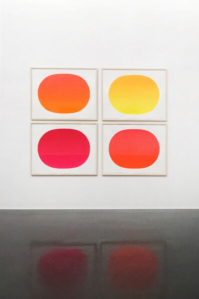 Rupprecht Geiger, 'Rupprecht Geiger 90 (orange, gelb, magenta, rot)', 1998