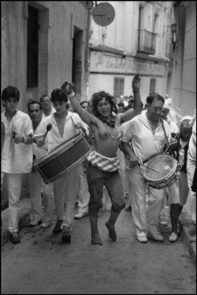 Cristina Garcia Rodero, 'SPAIN. Teruel. 1987. A festival for Suzanne.', 1987