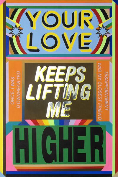 Lakwena Maciver, 'Your love keeps lifting me higher', 2020