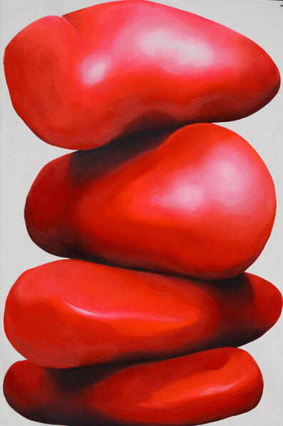 Brian Bonebrake, 'Stack of red matter', 2014