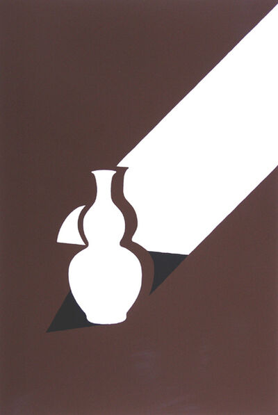 Patrick Caulfield, 'White Ware Prints:  Arita Flask', 1990