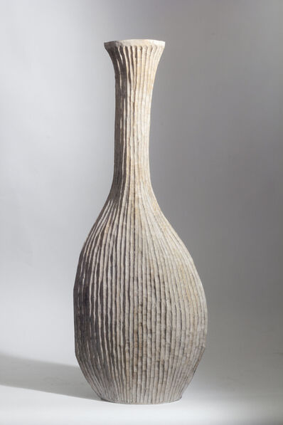 Malcolm Martin and Gaynor Dowling, 'WHITE RIBBED VESSEL', 2016
