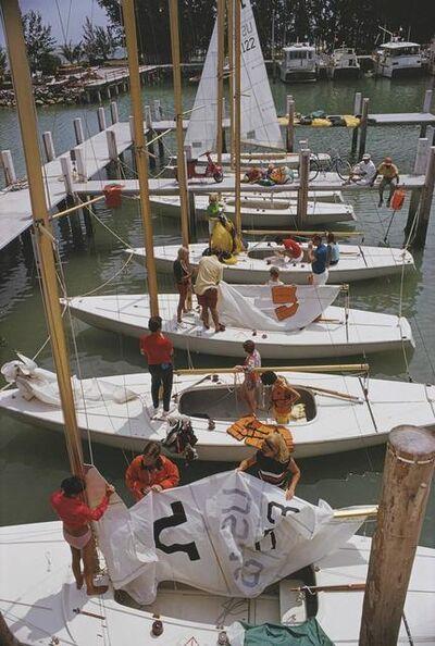 Slim Aarons, 'Freeport Yachts', 1969